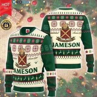 Christmas - Jameson AOP Wool Sweater