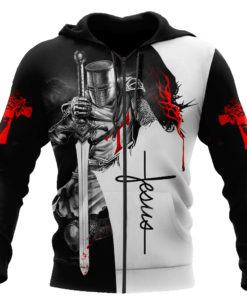 Knight Of Christ Jesus Hoodie