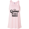 Queens are born in March T-shirt,Tank top & Hoodies