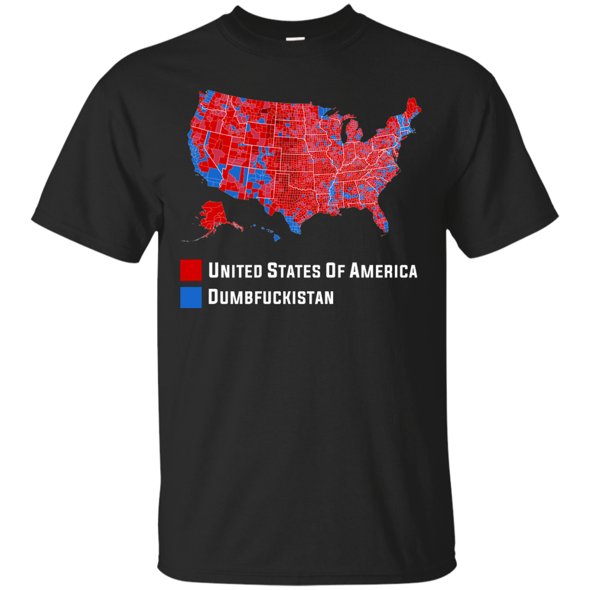 Kid Rock: Hillary Dumbfuckistan Trump United States Of America T-Shirts, Hoodies