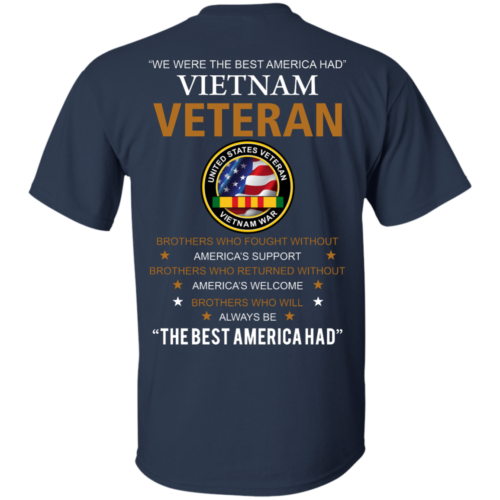 United states veteran vietnam war Shirts We were best America had Vietnam veteran T shirt,Tank top & Hoodies