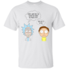 Morty and Rick shirts - What does the scouter say about his power level T-shirt,tank top & hoodies