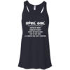 April girl - hated by many - loved by plenty - heart on her sleeve t-shirt,tank,hoodie,sweater