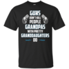 Guns Don't Kill People Grandpas with Pretty Granddaughters do t-shirt, tank, hoodie, sweater