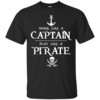 Work like a captain, play like a pirate unisex t-shirt, tank, hoodie