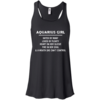 Aquarius Girl Hated by many Loved by plenty Heart on her sleeve shirt, tank, hoodie