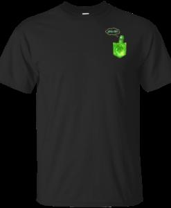 Pickle Rick (pocket) shirts, tank, hoodie