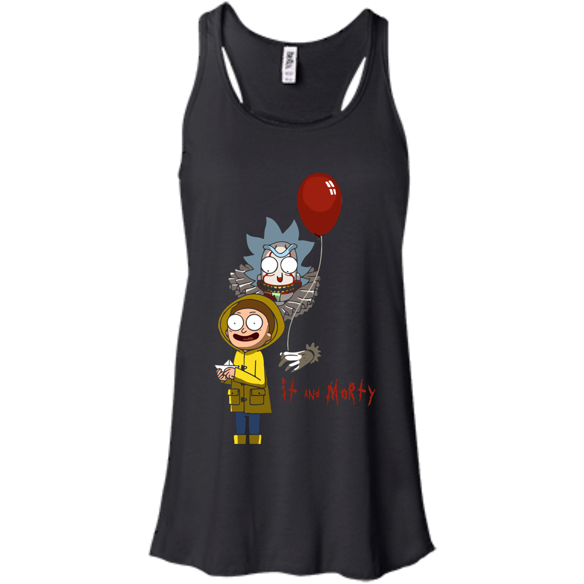 Rick and Morty IT movie and Morty tshirt, vneck, tank, hoodie