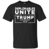 Deplorables Unite Trump for President 2016 t-shirt, hoodies, tank