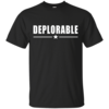 Deplorable Unisex T-Shirt - Vote for Trump
