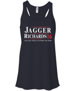 Jagger Richards for president 2016 t shirt & hoodies, tank top