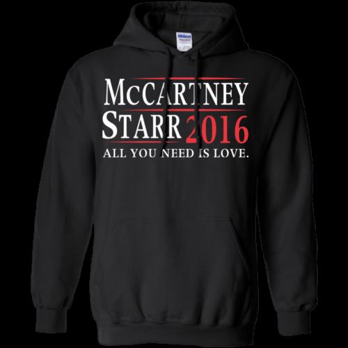 Mccartney Starr for president 2016 t shirt & hoodies