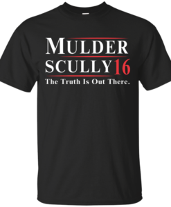 Mulder Scully for President 2016 T Shirt, Hoodies, Tank Top