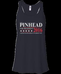Pinhead for president 2016 t shirt & hoodies