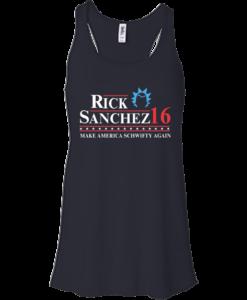 Rick Sanchez for president 2016 t shirt & hoodies
