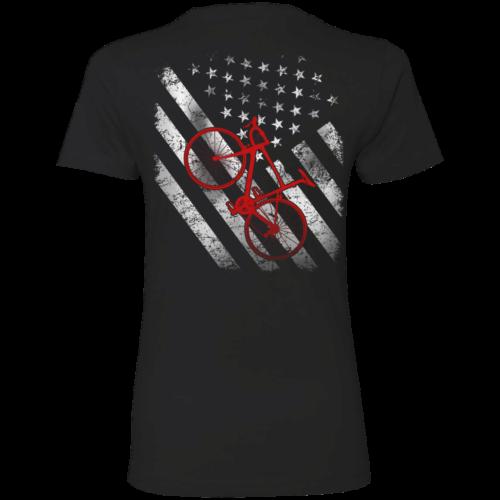 Cycling t shirt: Cycling flag, bicycle flag T Shirt/Hoodies