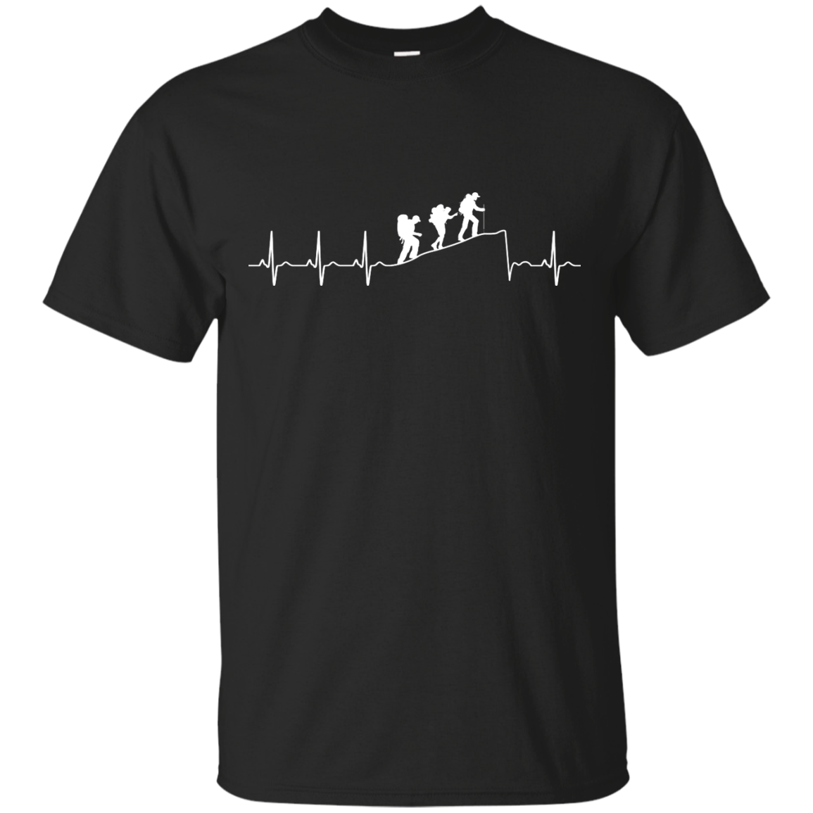 Hiking T-Shirt: Hiking Heart Beat T Shirt, Hoodies, Tank Top