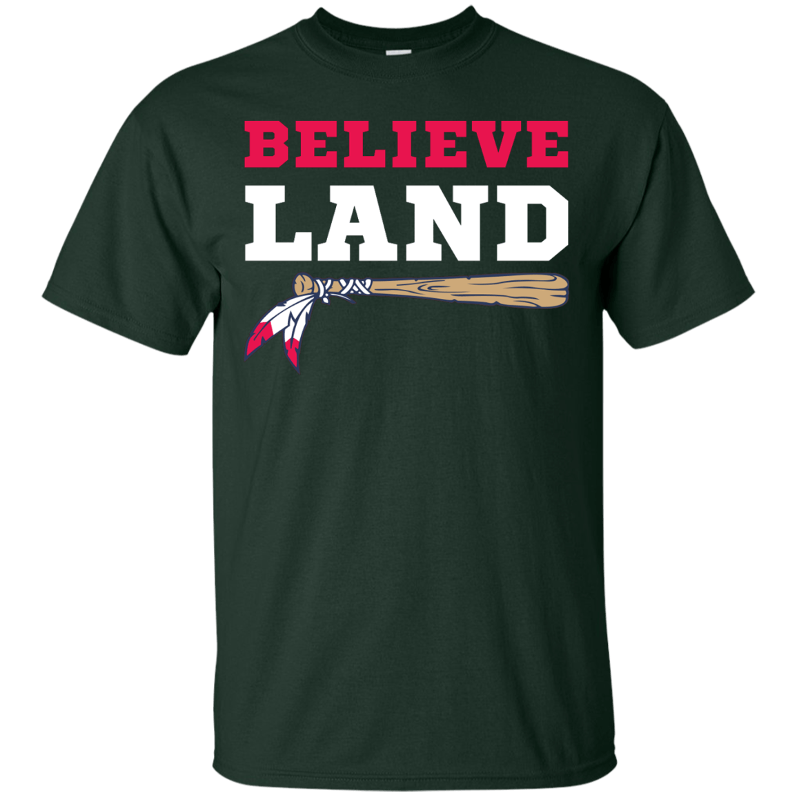 Believe Land Cleveland Baseball T Shirt