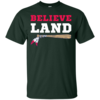Believe Land Cleveland Baseball T-Shirt
