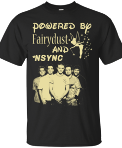 NSYNC Unisex Shirt - Powered By Fairydust and NSYNC