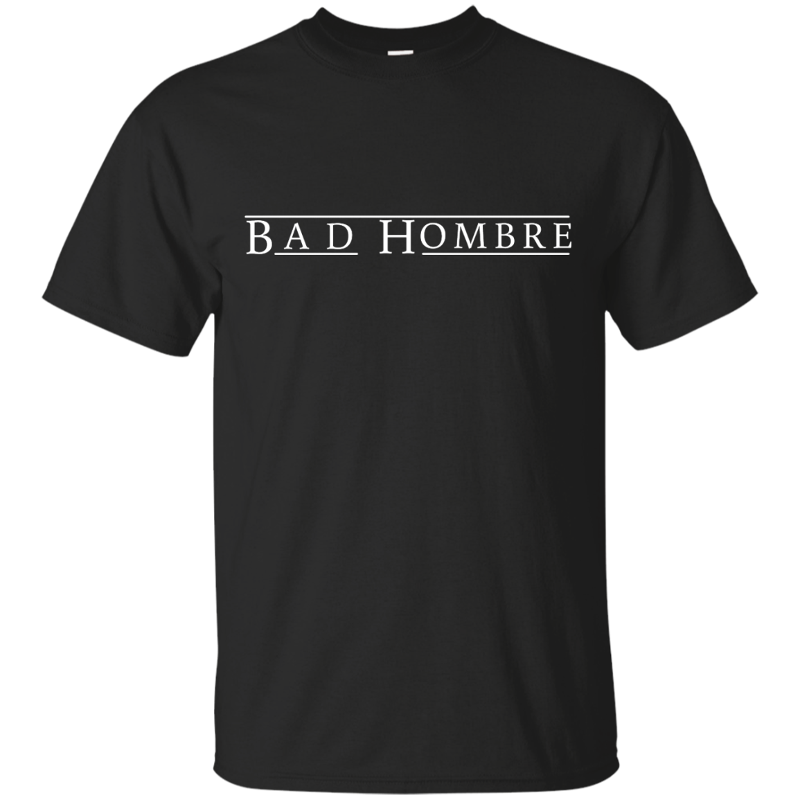 Bad Hombre Shirt Hillary Clinton and Trump Debate