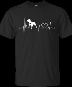 Pitbull Love Shirt - Pitbull Heart Beat T-Shirt, Hoodies, Tank Top