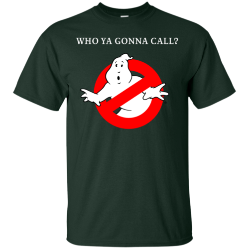 Ghostbusters Who Ya Gonna Call? T shirt