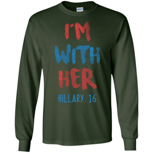 Hillary '16 I'm With Her T Shirt