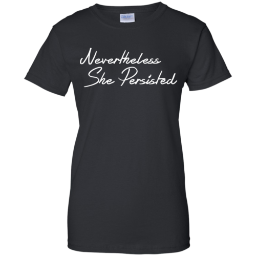 She was warned nevertheless she persisted shirt