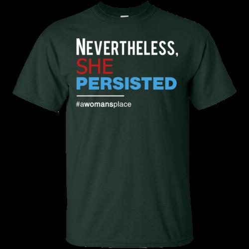 She Persisted tshirt, Resist Shirt