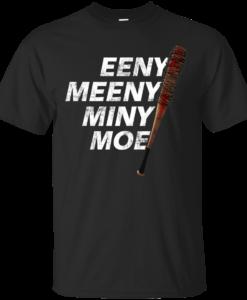 "The Walking Dead T-Shirt: Eeny Meeny Miny Moe ""Racist"" T Shirt"
