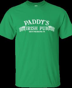 St Patrick's Dy: Paddy's Irish Pub T-Shirt