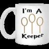 Harry Potter Mug: I'm A Keeper Coffee Mug