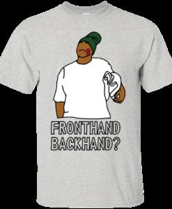 Fronthand backhand Key And Peele T shirt Hoodie