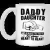 Daddy and Daughter Not Always Eye To Eye Mug