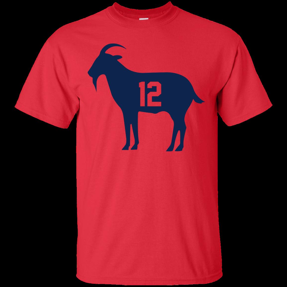 Goat Tb 12 Tom Brady T-Shirt eda20c6b7bbd