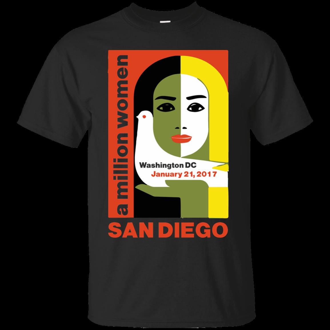 Women's March on San Diego, California January 21, 2017