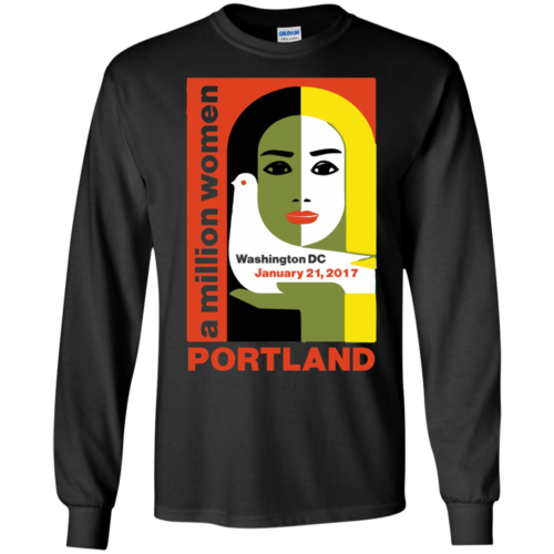 Women's March On Portland Oregon 2017 Shirt