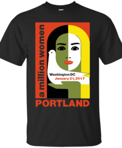 Women's March On Portland Oregon 2017 Shirt