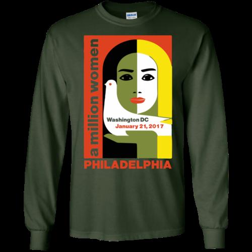 Women's March on Philadelphia, Pennsylvania 2017 Shirt