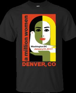 Women's March on Denver Colorado 2017 Jan 21 T Shirt