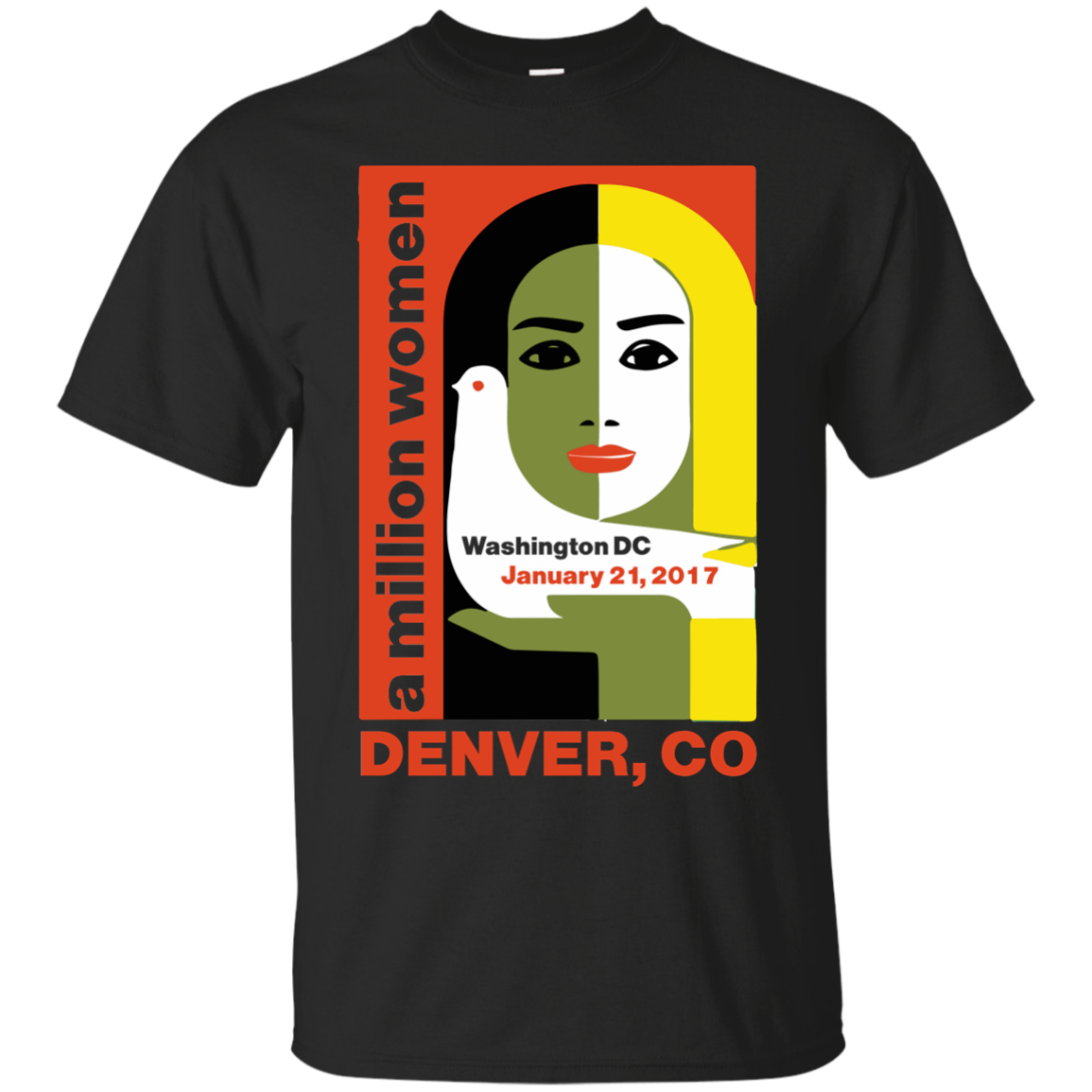 Women's March on Denver Colorado 2017 Jan 21 T Shirt