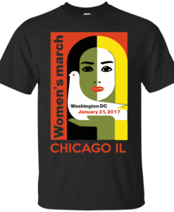 Women's March On Chicago Illinois T-Shirt, Hoodies, Tank Top
