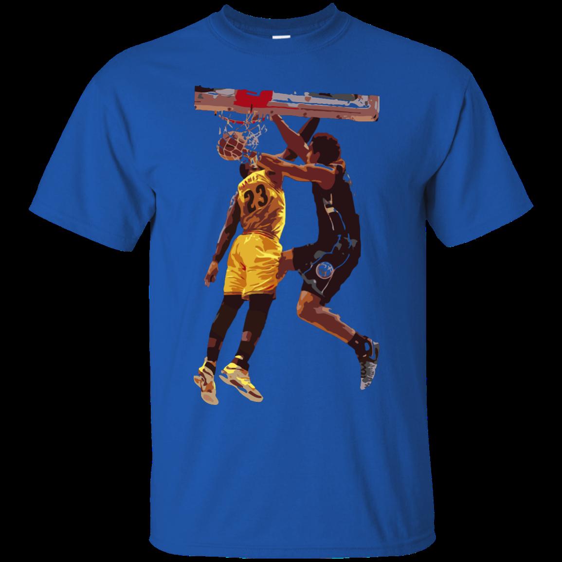 new style 49c01 165fe Malcolm Brogdon Dunk on LeBron James T Shirt, Hoodies, Tank Top