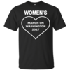 Women's March on Washington 2017 T Shirt & Hoodies