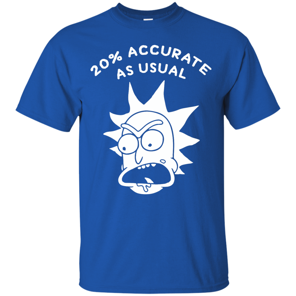 Rick and Morty 20% Accurate as Usual T Shirt, Hoodies, Tank Top