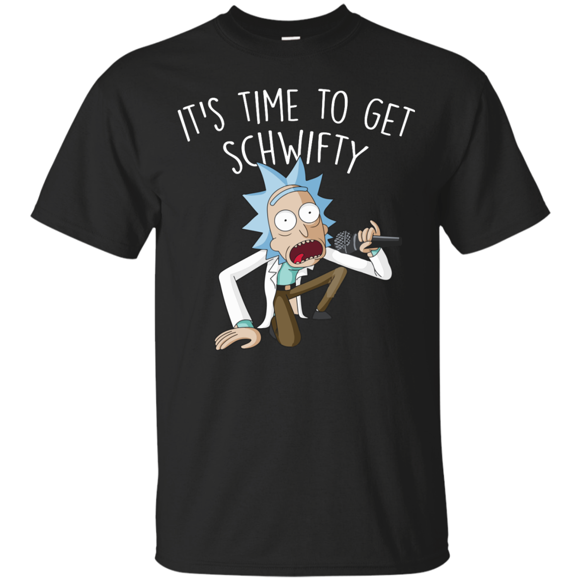Rick and Morty It's Time to Get Schwifty T-Shirt, Hoodies