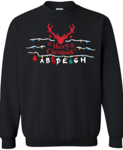 Stranger Christmas Sweater T-Shirt