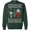 Snoopy Christmas Sweater, Snoopy and Peanuts Christmas Shirt