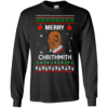 Mike Tyson Merry Chrithmith Christmas Sweater, Long Sleeve Shirt